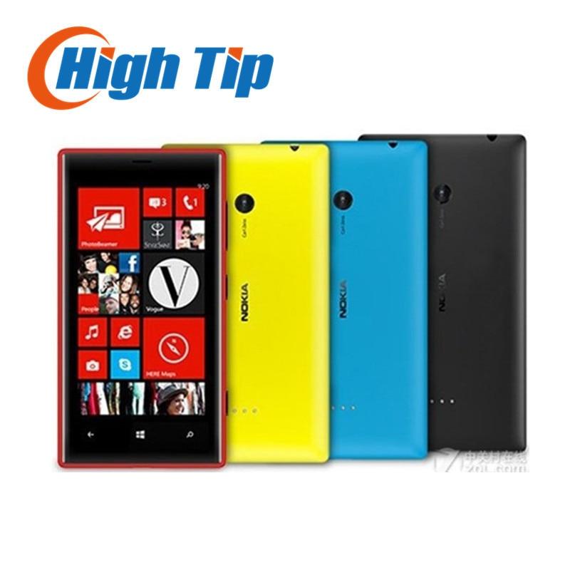 Unlocked Original Nokia Lumia 720 Dual core Mobile phones 6 7MP WIFI 4 3 GPS Windows
