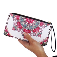 Hot Sell Ancient Women Wallet Card Holder Purse Fashion Female Clutch Purse Cute PU Leather Lady