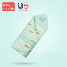 Babycare Большой спальный конверт фланелевые сумки для новорожденных зимний обертывание детский конверт пеленка одеяло обертывание