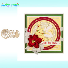 Luck YCraft Christmas Scenes set Metal Cutting Dies for DIY Scrapbooking Embossing Paper Cards Making Crafts Cut 2019 new