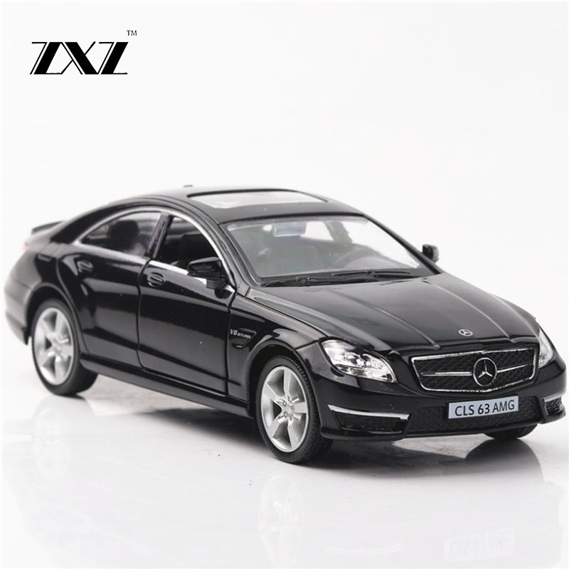 1:36 Toy Car CLS AMG Race Car Metal Toy Diecasts & Toy Vehicles Car Model Miniature Scale Model Car Toys For Children