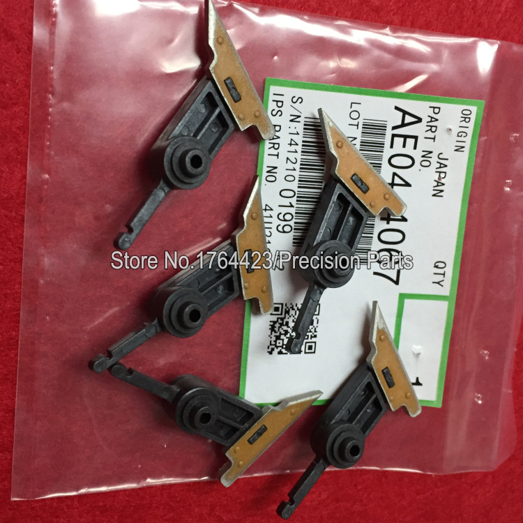 High Quality AE04 4067 Upper Fuser Picker Finger for Ricoh Aficio MP 1350 9000 MP1100 MP1350 AE044067 AE04 4044,5pcs/set-in Printer Parts from Computer & Office    1