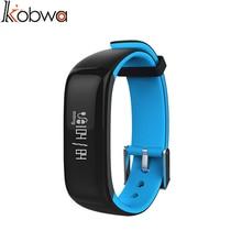 Kobwa мода спорт smart watch smart браслет сердечного ритма артериального кислорода мониторинга упражнение шаг водонепроницаемый smartwrist k2bb-094