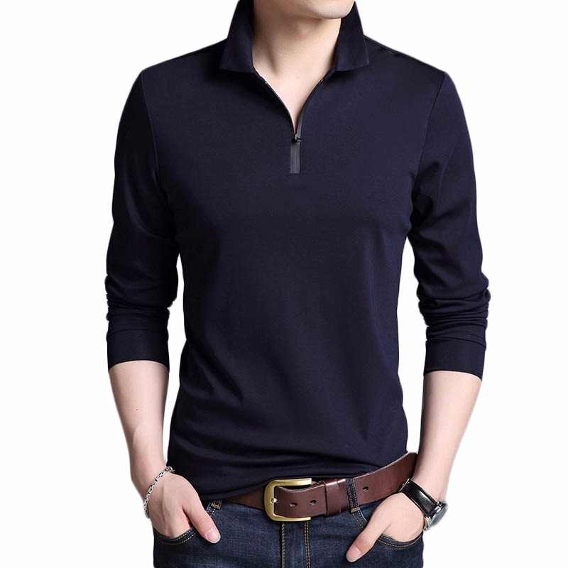 2019 New Fashion Brands Designer Polo Shirt Men Cotton Boys Street Style  Long Sleeve Slim Fit 3b71dfc30df7
