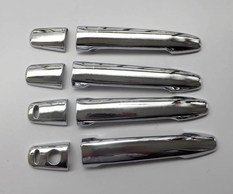 Free shipping For Mitsubishi Outlander Lancer 2008 RVR  ASX 2010 2011 2012 2013 2014 ABS Chrome Car Door Handle Cover (11)