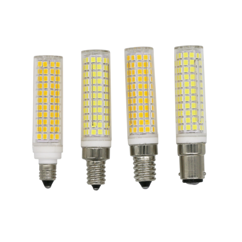 E11 E12 E14 BA15D AC110V AC220V 15W Led Light Lamps Corn Light Dimmable Bulbs Lampada Bombillas Replace 100W-150W Halogen Lamp