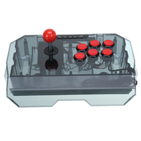 Video Game Arcade Stick Joystick Controller PK Machine PC SUB Plastic Frame Gamepad for Coin Operated Games