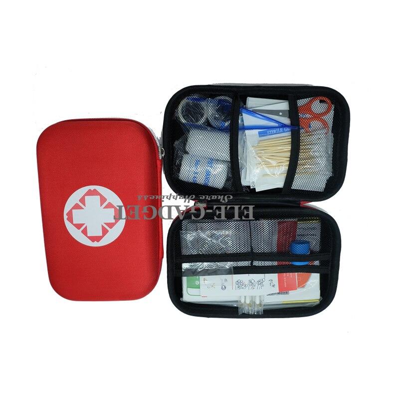 17 itens/93 pcs Kits de Primeiros Socorros Para Casa de Viagem Portátil Esportes Ao Ar Livre de Emergência Kit De Emergência Médica Saco de EVA cobertor de emergência