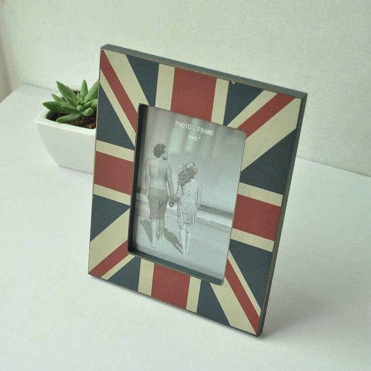 Zakka comestibles, British Union Jack estilo de marco, para el hogar ...