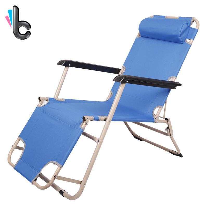 Folding recliner beach chair beach lounge chairs portable chair garden beach outdoor in beach - Outdoor mobel lounge ...
