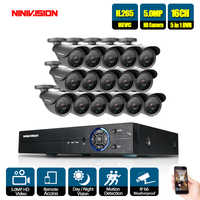 HD 8CH NVR 5MP 1080 P POE CCTV kamera System Kit 5.0MP Im Freien Wasserdichte Ip-kamera POE home security Video überwachung set