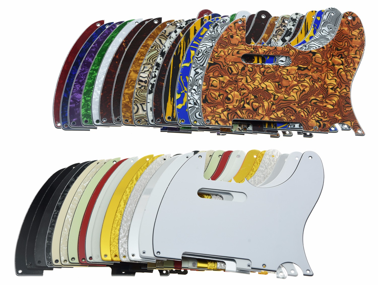 China telecaster pickguard Suppliers