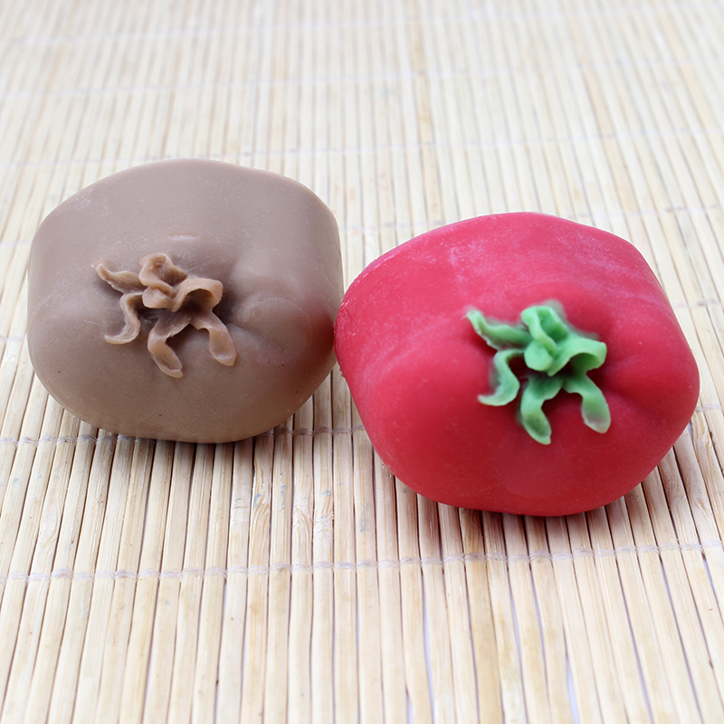 Nicole Silicone Soap Mold Tomato Shape for Natural Handmade Craft Resin Clay Chocolate Candy Mould in Soap Molds from Home Garden