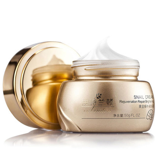 2016 Brand Gold Snail Essence Face Cream Acne Treatment Black Head Remove Skin Care Whitening Moisturizing Face Care Anti Aging