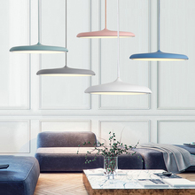 Post-Modern LED Pendant Lights Restaurant Living Room Bar Kitchen Handing Lamps Industrial Indoor Lighting