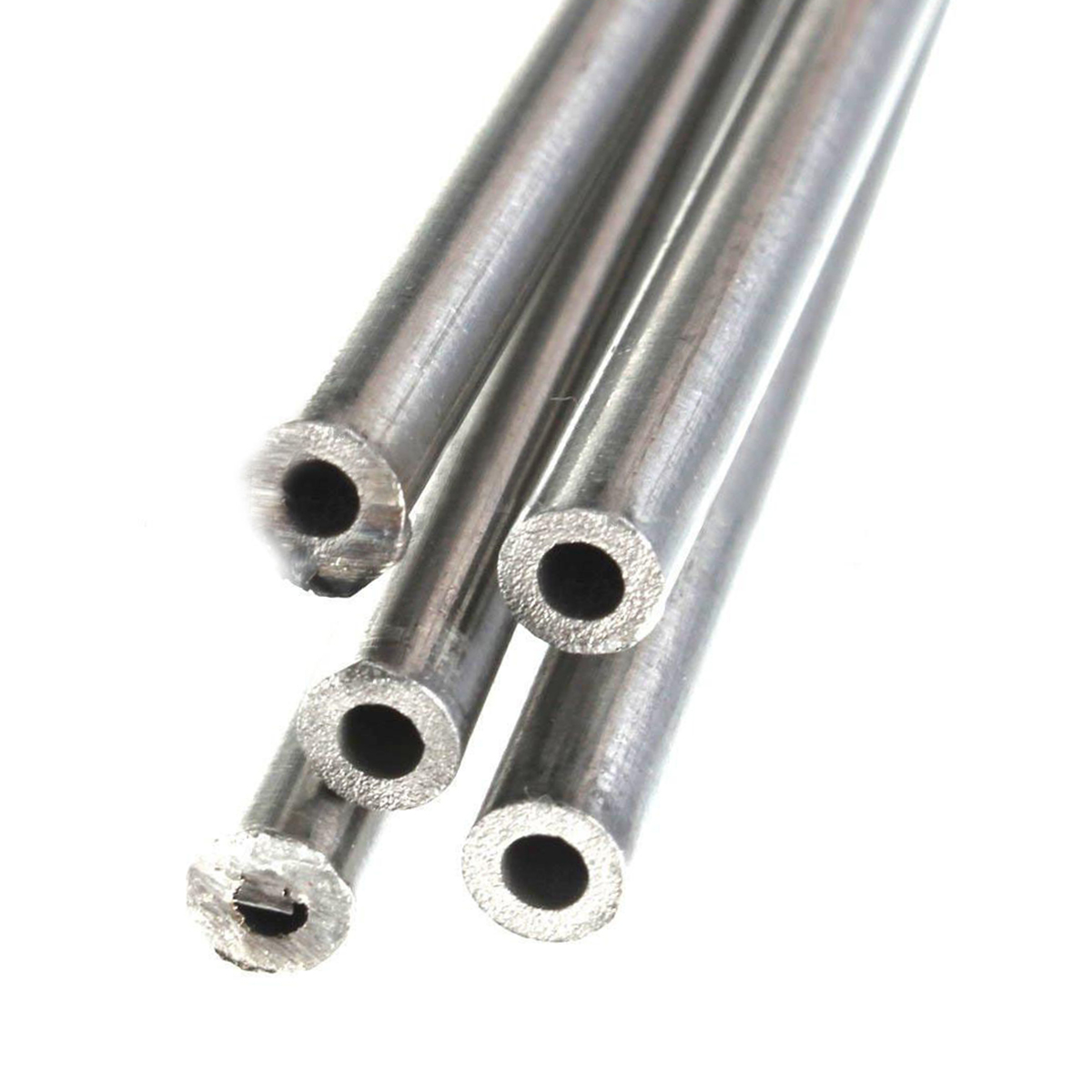 2pcs 304 Stainless Steel Capillary Tube Pipes 4mm OD 3mm ID 250mm Length Silver For Machinery 304 stainless steel capillary tube od 3mm x 1mm id length 250mm excellent rust resistance can be use to chemical industry etc