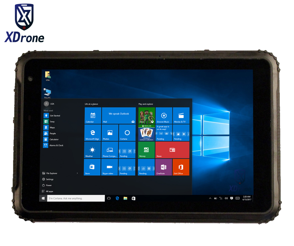 Industrial Kcosit K88l Ip67 Waterproof Tablet Pc Windows