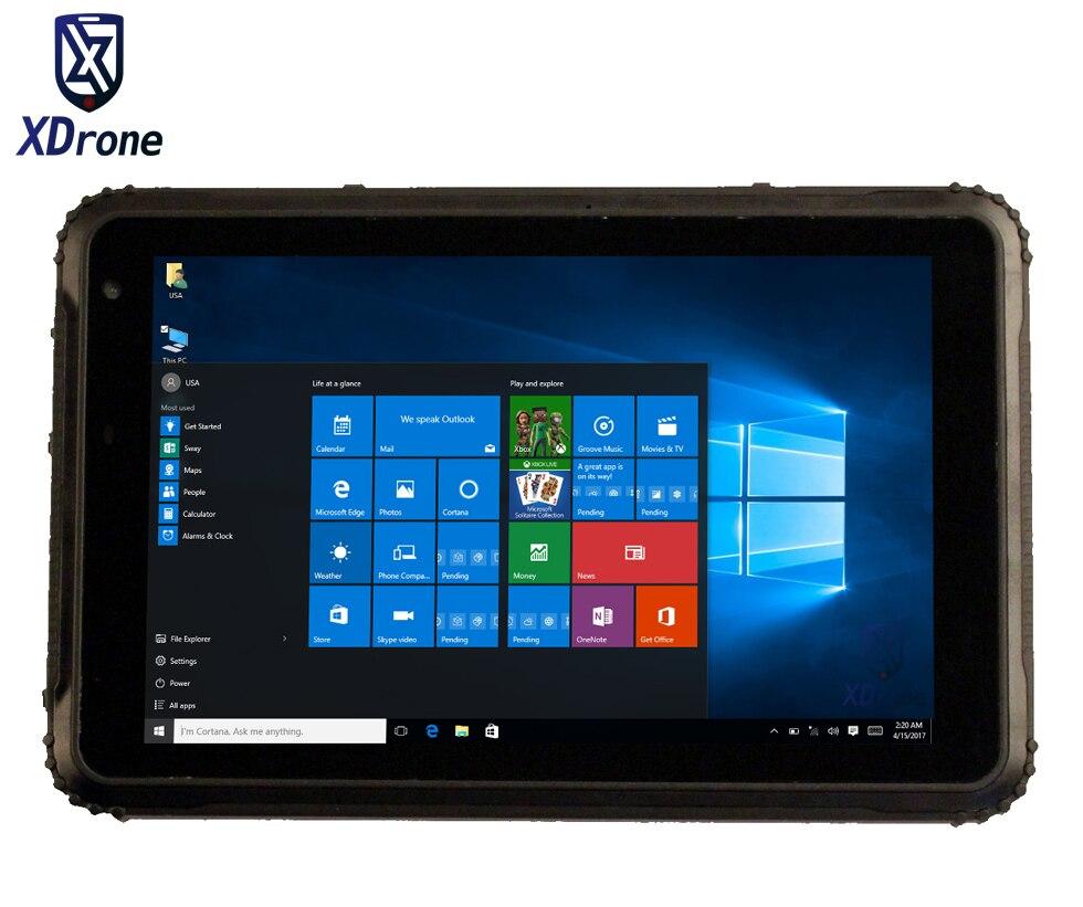 Industrial Kcosit K88L IP67 Waterproof Tablet PC Windows 10 Pro Shockproof Military 8 Quad Core Z 8350 2GB RAM OTG 3G GNSS GpS