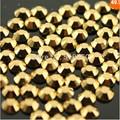 1440 pcs SS4 1.5-1.6mm de Ouro Opala Cristal de Alta Qualidade Strass Para Nails Art Decorações Saco Sapatos Talão Venda quente