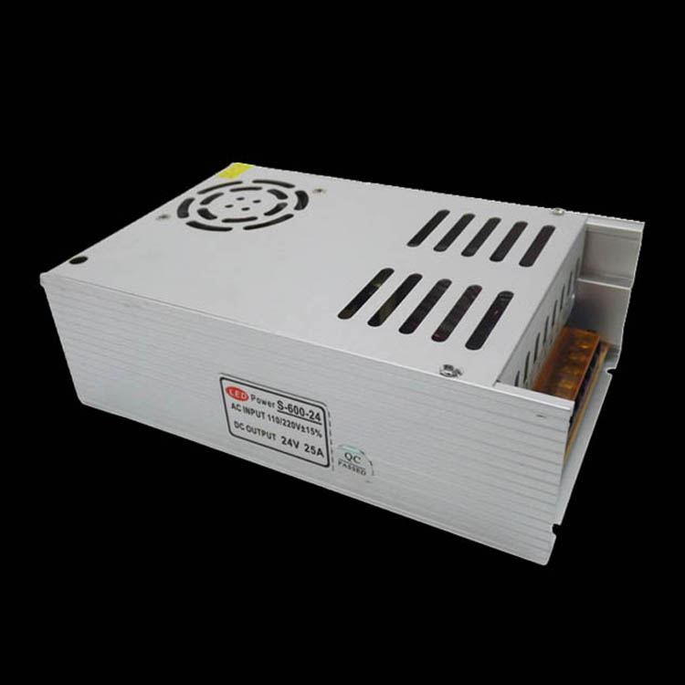 DC Power Supply 600W 24V 25A Led Driver Transformer 110V 220V AC to DC24V Power Adapter for strip lamp CNC CCTV