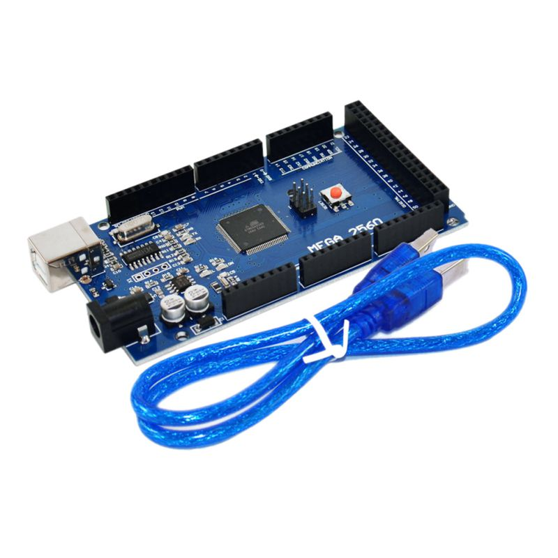 все цены на 1 Pcs MEGA 2560 R3 ATmega2560 R3 AVR USB Board + Free USB Cable for arduino 2560 MEGA2560 R3 онлайн