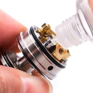 Image 2 - Vapefly Original, galaxias MTL Squonk RDTA con Firebolt, algodón, 2ml de capacidad, 22mm, RDTA MTL, relleno superior/parte inferior, cigarrillo electrónico, vaporizador