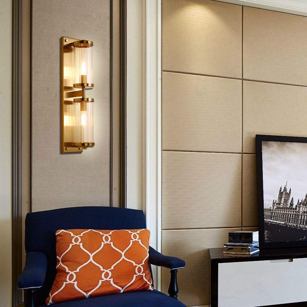 newest modern gold wall light sconces lighting luxury