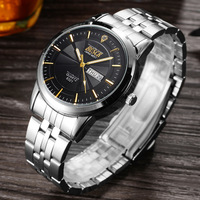 BOSCK Top Brand Wrist Watch Men Waterproof Watches Shockproof Horloge Mannen Auto Week Date Calendar Relogio