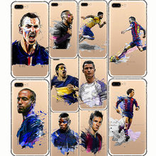 Ronaldo Messi Neymar Football Barcelona Soccer Star Sport Soft Silicone Phone Cases Cover For iPhone 7 8 6S 6 PLUS 10 5 SE 5S X(China)