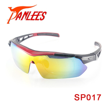 Panlees UV400 Interchangeable Sport Sunglasses Prescription Sports Glasses Polarized Sunglasses 5 Lens For Outdoor Sprots