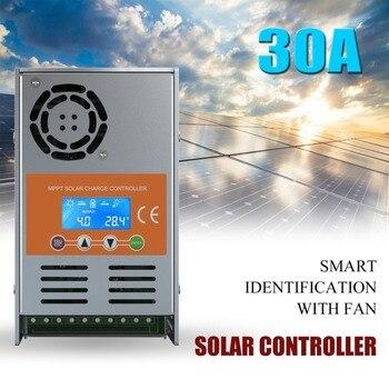 30A kryty MPPT kontroler słoneczny PV ładowarka 12 V/24 V/36 V/48 V Auto w pełni inteligentny uznanie z wentylatorem chłodzącym z kontrolą DSP
