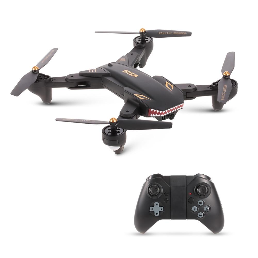 VISUO XS809S 0.2 0.3MP Camera Selfie Drone FPV Wifi Foldable RC Drone Quadcopter Helicopter Dron VS Tello E58 E51 XS809HW H36