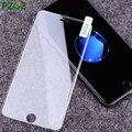 PZOZ Закаленное Стекло Для iphone 7 Защитная Пленка Силиконовый Край 3D Полное Покрытие Для iphone 7 Plus i7 4.7 & 5.5