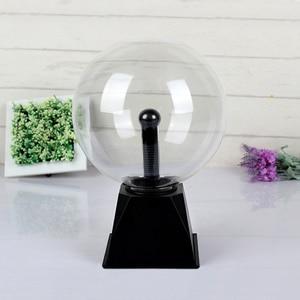 Image 5 - Plasma Ball Lampe Elektrischen Globus Statische Lampen Klingen Sensiblen 8 Zoll Glas Kugel Nachtlicht Spielzeug Für Kinder Plazma Neuheit Licht
