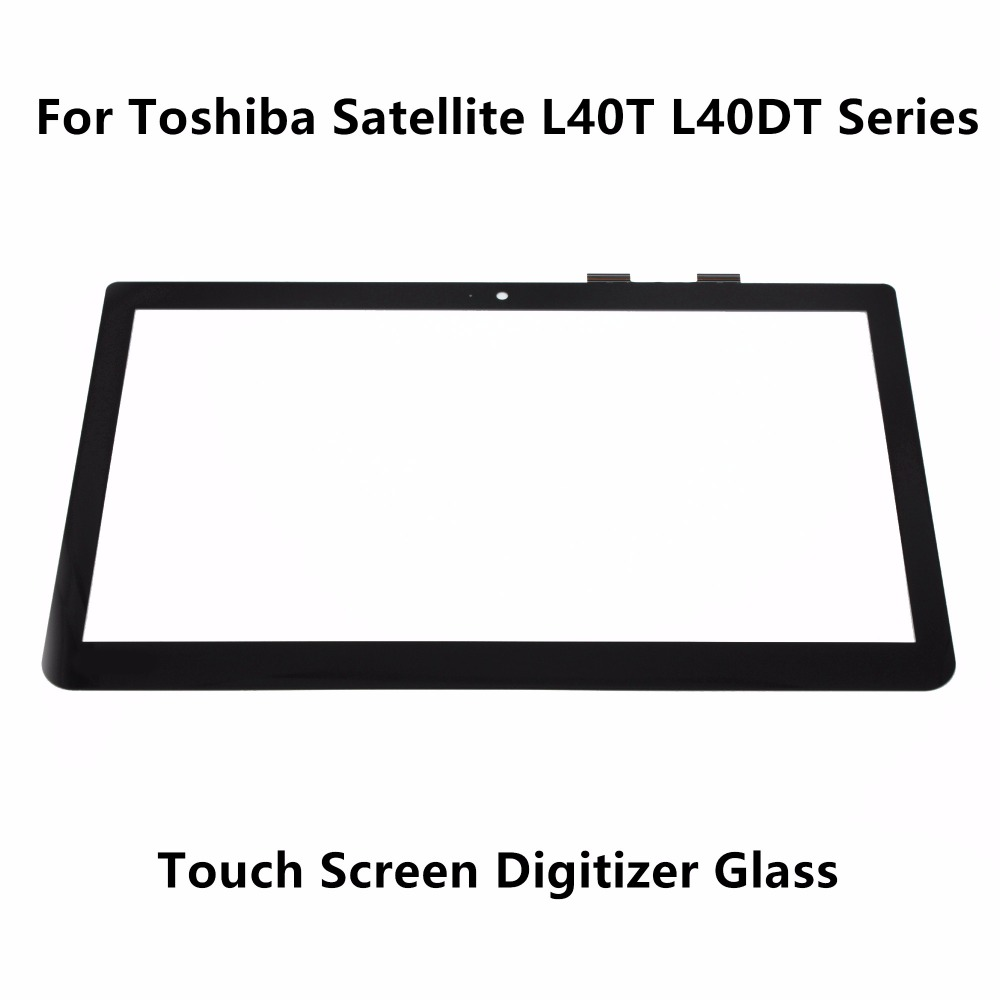New 14.0'' Touch Panel Screen Digitizer Senors  Glass Replacement For Toshiba Satellite L40T L40DT Series L40t-A-106 L40T-A-105  new 10 toshiba encore 2 wt10 touch screen digitizer glass replacement
