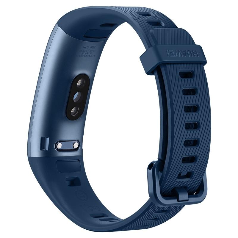 Huawei Original de la banda 3 Pro Smartband GPS marco de Metal Amoled pantalla a todo Color de pantalla táctil nadar golpe corazón Sensor de dormir - 3