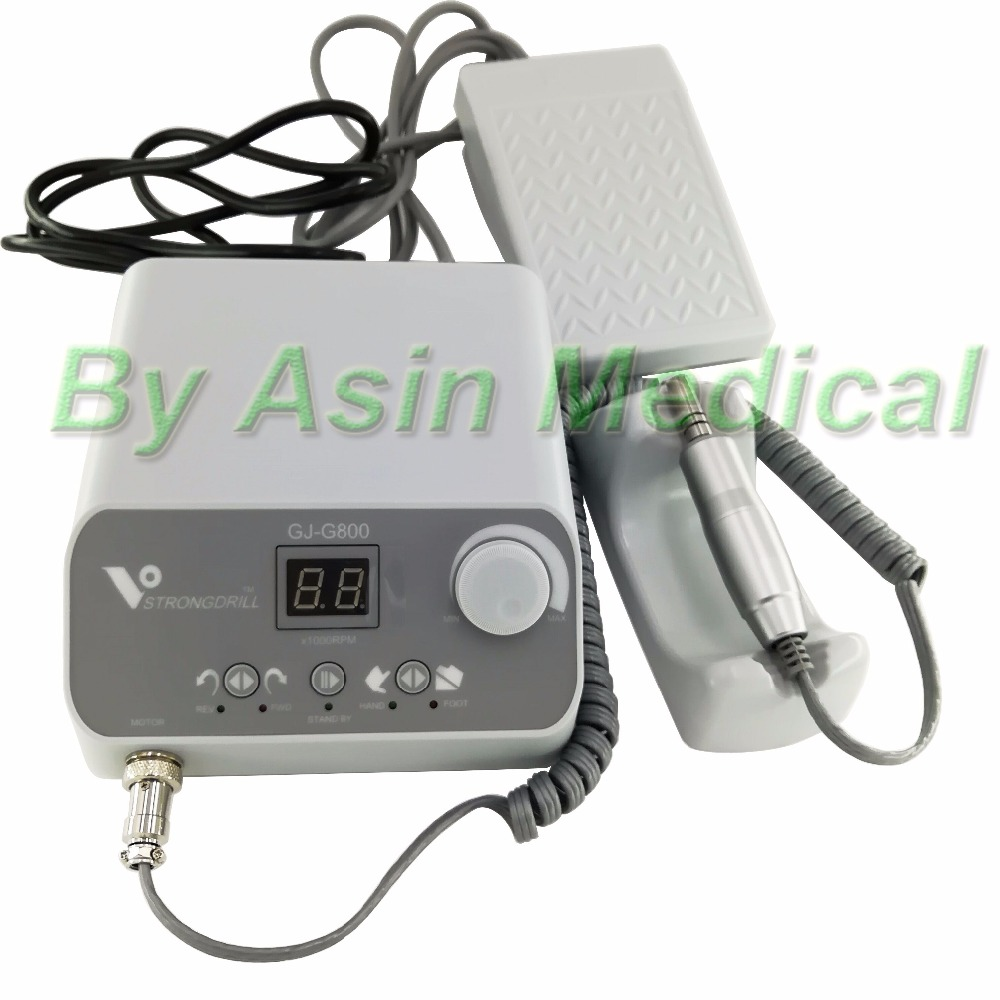 Free Shipping 2018 new arrival 50,000 rpm brushless jewelry micromotor speed by foot pedal dental laboratory Polishing set цена