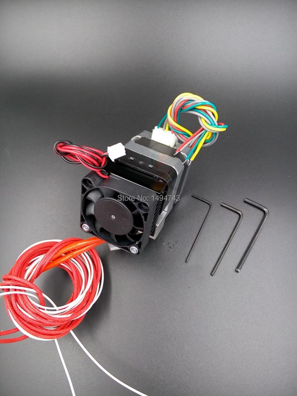 2 sets 0.4mm Nozzle MK7 3D printer extruder for Makerbot Prusa i3 Kossel Mendel RepRap 3D printer