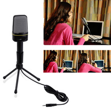 3.5mm Wired Studio Capacitive Plug and Play Microphone SF-920 For Computer Wholeslae