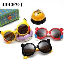 14e78850cb1 LDOFWJ 2018 Cartoon Kids Polarized Sunglasses Children Travel Outdoor  Silica Gel Sun Glasses Candy Color Goggles Oculos De Sol