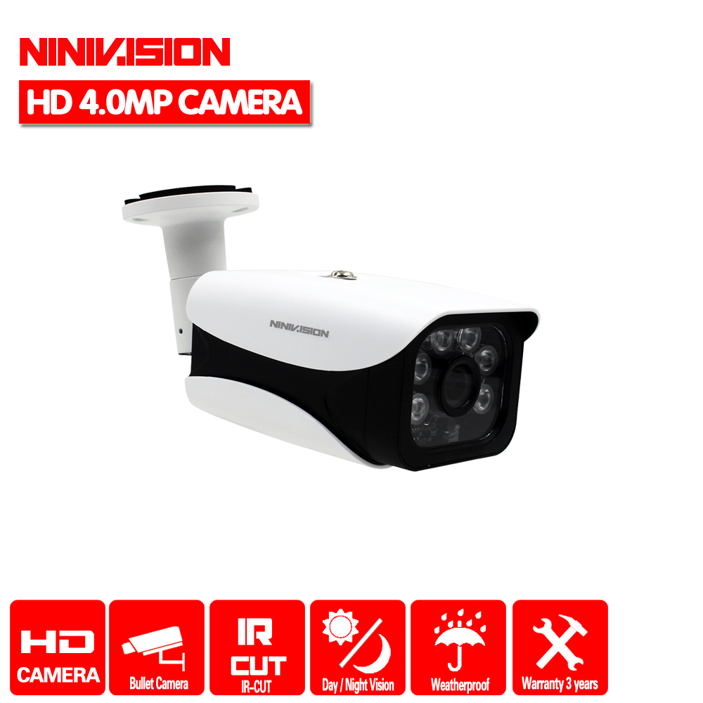 HD 4.0MP 1/3 ''SONY IMX322 capteur 2560*1440P 4MP AHD caméra CCTV IR coupe filtre caméra AHD intérieur extérieur étanche vision nocturne