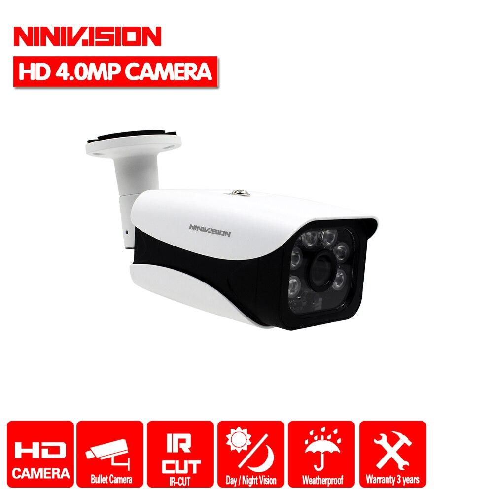 HD 4.0MP 1/3 ''SONY IMX322 Sensor 2560*1440P Câmera AHD AHD Câmera de CCTV IR Cut Filter 4MP interior Ao Ar Livre À Prova D' Água visão noturna