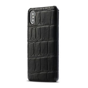 Image 5 - LANGSIDI Luxury Original Crocodile phone case for iphone 12 pro 12 mini X XS max XR 7 8 plus SE 2020 for iphone 11 pro max