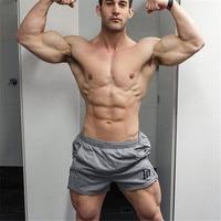 Brand Mens Active Trunks Workout Cargos Man Jogger Boxers Sweatpants Board Beach Shorts Men Short Bottoms