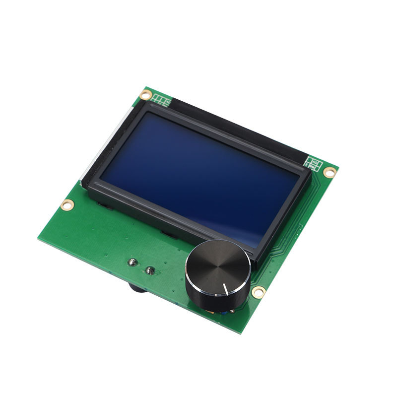 ender 5 Controller RAMPS 1.4 LCD 12864 Display blue screen+Cable For <font><b>CREALITY</b></font> 3D Ender-3/ender-3 <font><b>pro</b></font> CR-10 CR-10S printer Parts image