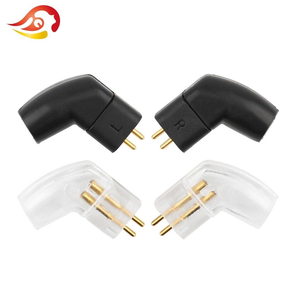 QYFANG 0.75mm Écouteur Pins Audio Jack Pour UE TF10 UE TF15 5PRO F3 Câble Connecteur De Fil À Souder HiFi Casque plug Splice Adaptateur