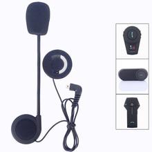 Helmet Intercom mini usd Earphone Microphone Motorcycle Helmet BT Intercom T COM 02 FDCVB T COMVB
