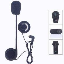 Microfone de fone de ouvido para capacete, mini comunicador usb para motocicleta, intercomunicador bt T-COM-02 fdcvb T-COMVB TCOM-SC colorida, acessórios kie