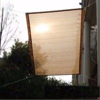 New Model Garden and Balcony UV Rectangle Shade Sails Window Curtain 1pcs