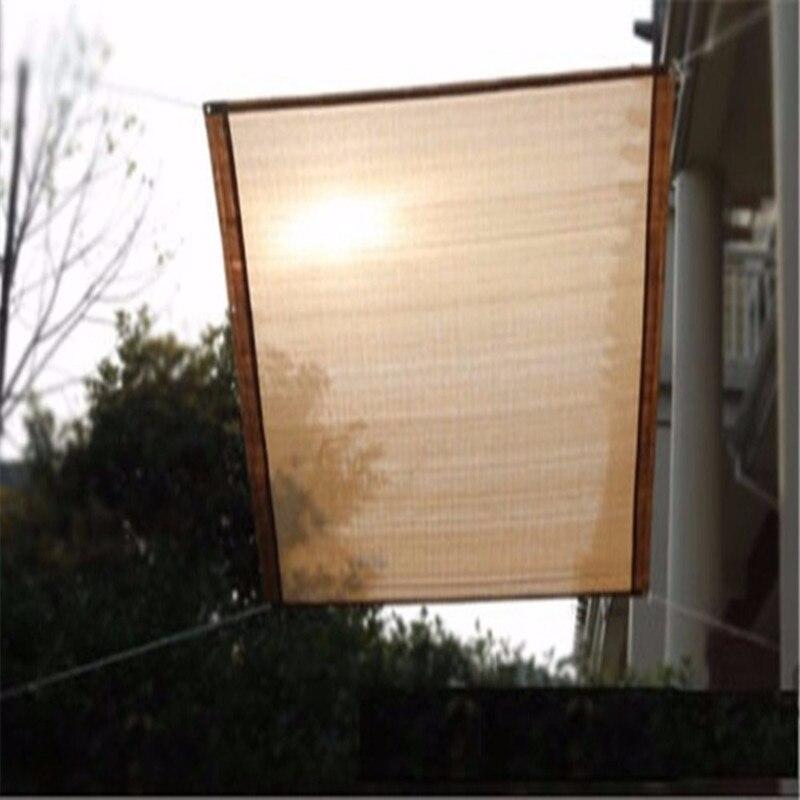 Nouveau modèle jardin et balcon UV Rectangle ombre voiles fenêtre rideau 1 pièces
